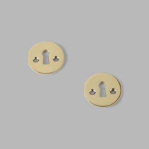 Nøgleskilt messing