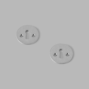 Key escutcheon steel