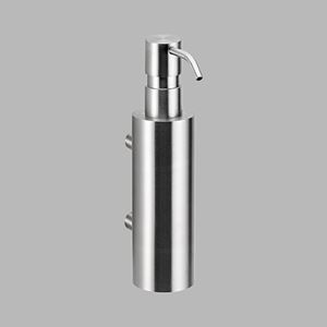 Soap dispenser polished steel