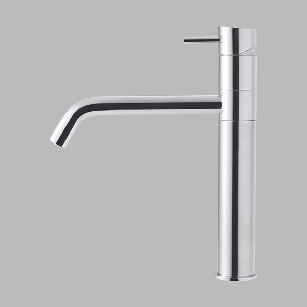 Kitchen tap - polished steel