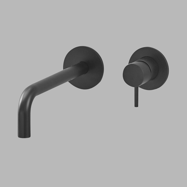 Built-in tap 190 mm - black