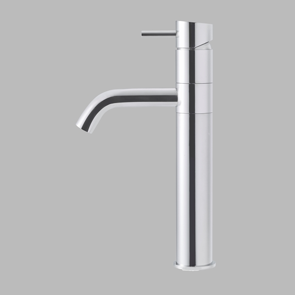 Allround tap - polished steel